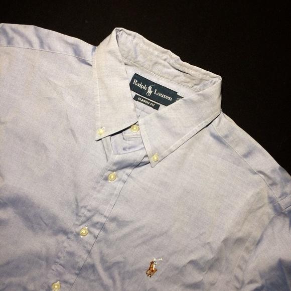 Polo Ralph Lauren Classic fit pony shirt 16 34/35